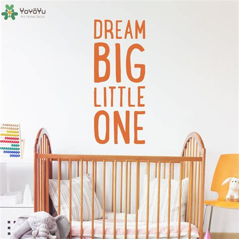 Nursery Sayings Wall Decals Nursery Room Wall Decal Quote Big One Baby Bedroom Vinyl Wall Stickers Gift