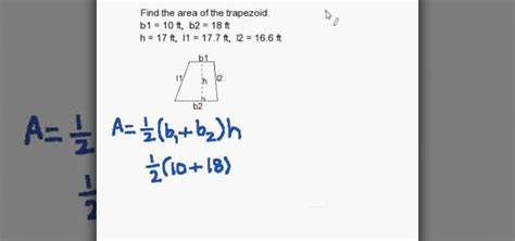How To Find To Buy How To Find The Area Of A Trapezoid Quickly 171 Math