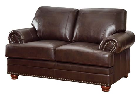 Ashleys Furniture Colton by Colton Collection Loveseat 504412 Leather Seats