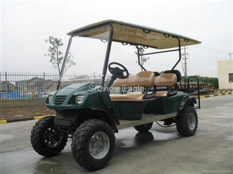 ce approved six seater electric buggy eg2040asz