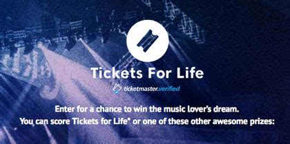 Set For Life Sweepstakes - ticketmaster tickets for life sweepstakes sun sweeps