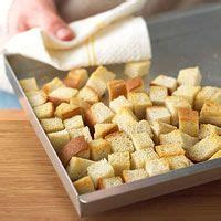best white bread cubes or dry french bread cubes recipe on