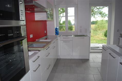 id馥 d馗o cuisine blanche cuisine blanche et taupe ide relooking cuisine u