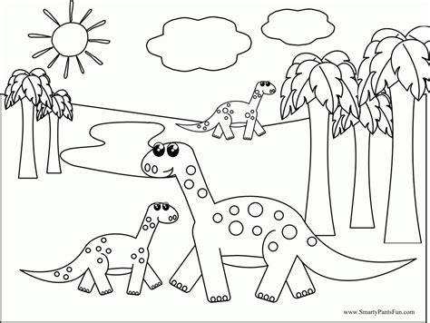 dinosaur coloring pages for preschoolers az coloring pages
