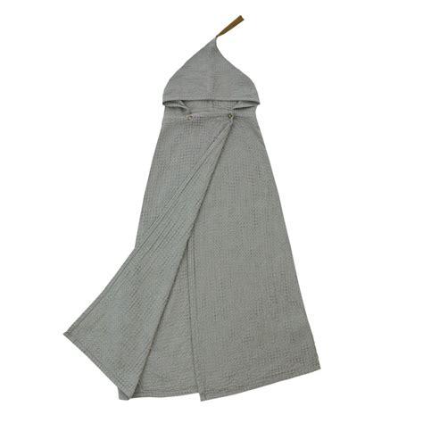 poncho handdoek lidor poncho handdoek dun silver grey