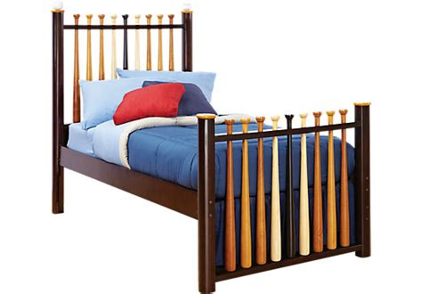 rooms to go bed frames batter up 3 pc twin baseball bed twin beds