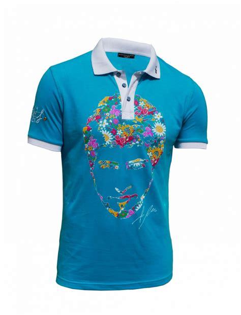 Polo Shirt Mont Blanc Premium Impor Edition Best Price Quality polo fleur homme homme polo coton noir rayures fleur impression polo d ete homme motif fleur de