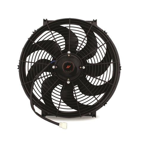 high flow radiator fan universal fit 16 inch race line high flow fan