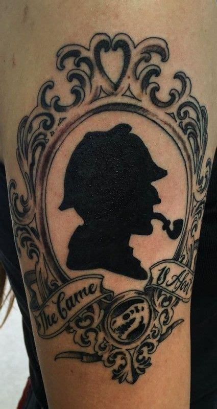 sherlock holmes tattoo sherlock on tattoos