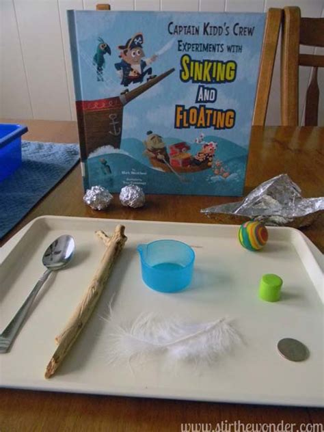 floating and sinking boat experiment science books for preschoolers sink float experiment