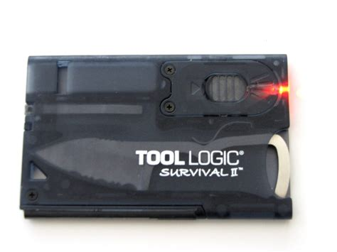 tool logic survival card 2 review the gadgeteer
