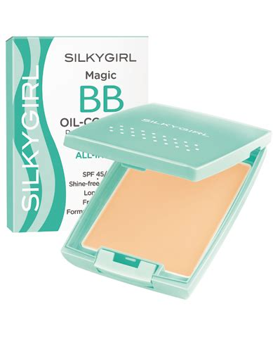 Two Way Cake Silkygirl l oreal mat magique all in one powder product