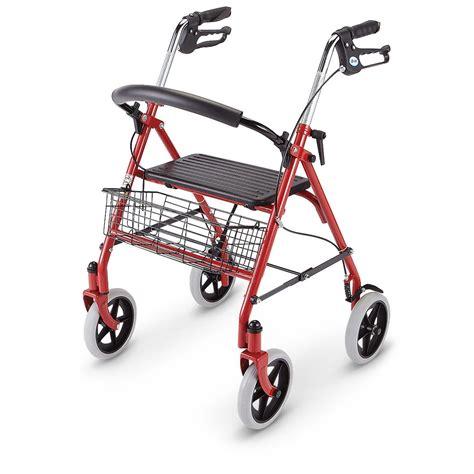 drive rollator drive medical deluxe rollator walker 228056