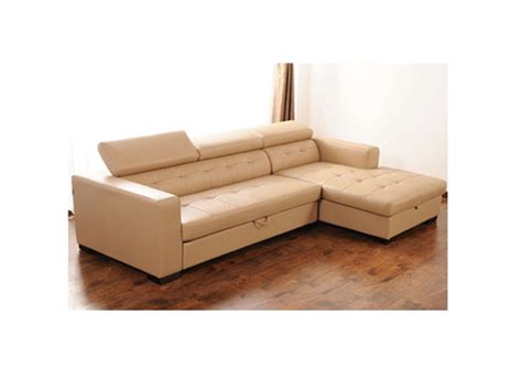 Corner Leather Sofa Bed Findal Left Corner Leather Sofa Sofa Bed Comfyland
