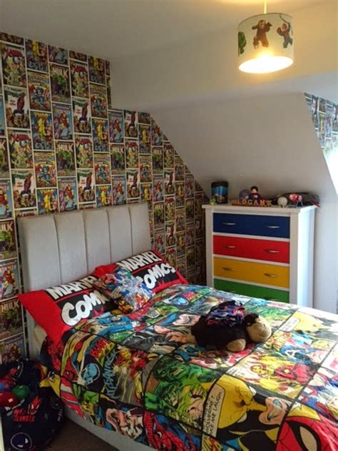 marvel kids bedroom marvel wallpaper for boy room wallpapersafari