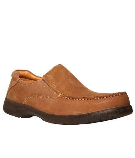 buy bata brown leather casual shoes for snapdeal