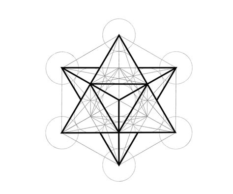 S Drawing Meaning by Symbolic Ink Metatron S Cube Inkspiration