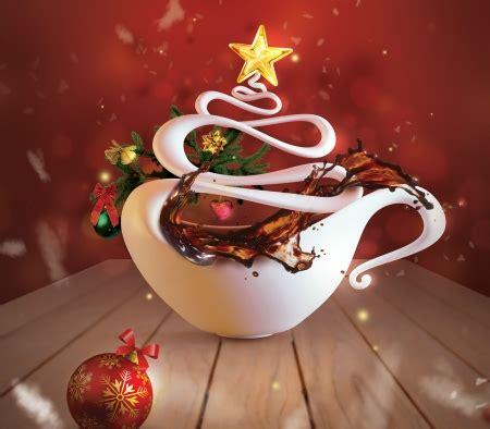 coffee christmas wallpaper christmas coffee magic christmas wallpapers and images