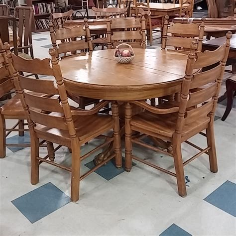 donate table and chairs claw table 6 chairs morris habitat for humanity restore