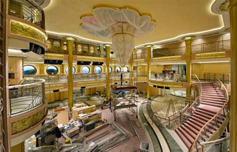 Dining Room Columns by Disney Fantasy Photos Show Improvements From The Dream