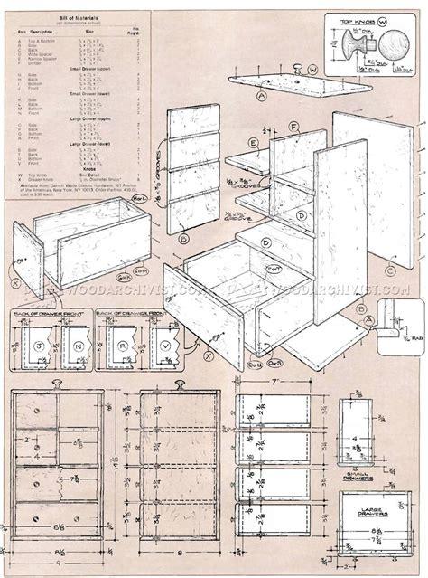 Shaker Sewing Box Plans ? WoodArchivist