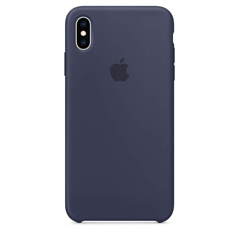 0 iphone xs max iphone xs max silicone midnight blue apple