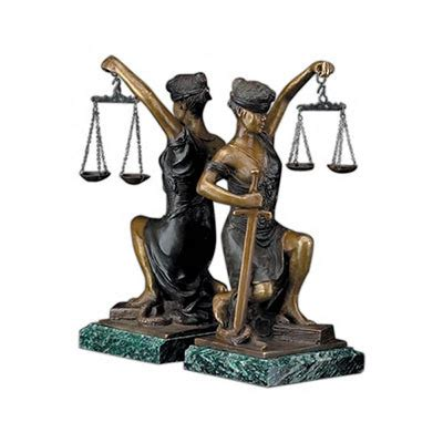 Lady Justice Gifts Legal Gift For Lawyer Judge Or Law Clerk Lawyer Desk Accessories