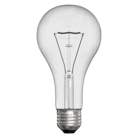 200 watt light bulb ge 200 watt incandescent a21 clear light bulb 200a cl 1