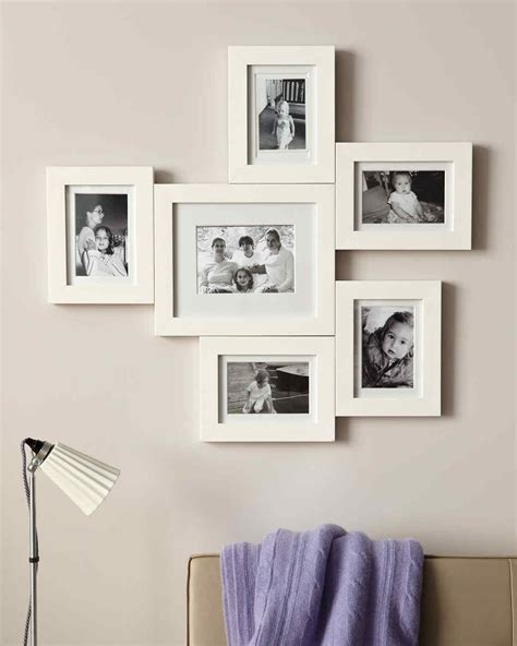 photo frame display connected photo frame display martha stewart