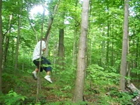 swinging vine tarzan swinging on a vine youtube