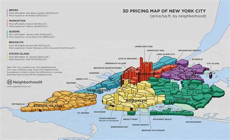 map of neighborhoods in new york city new york city map neighborhoods