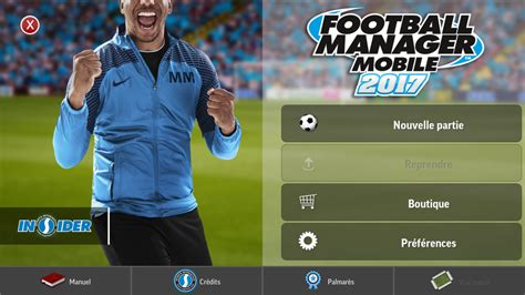 football manager mobile football manager mobile 2017 android 18 20 test photos