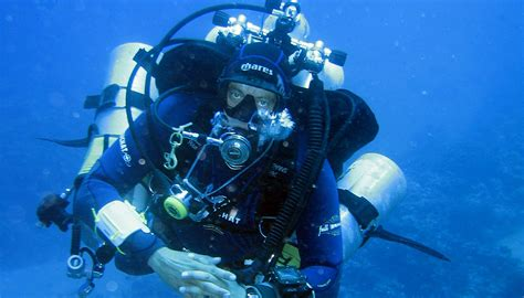 tech dive technical diving underwater oahu scuba diving