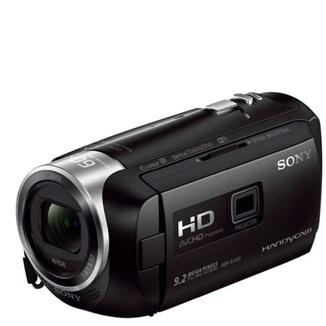 Sony Hdr Pj410 9 2 Mp Hitam sony hdr pj410 hd camdorder with built in projector
