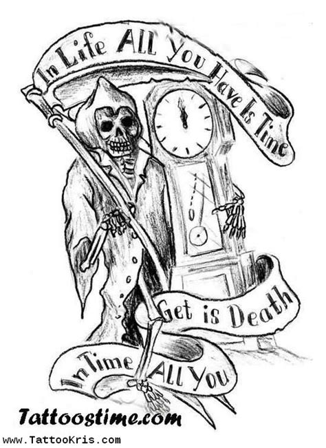 8 fantastic grim reaper tattoo designs ideas