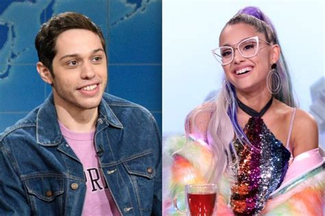 pete davidson song lyrics ariana grande names new song after fiance pete davidson