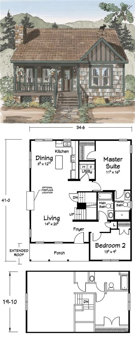 small cabin floor plan 10 cabin floor plans cozy homes