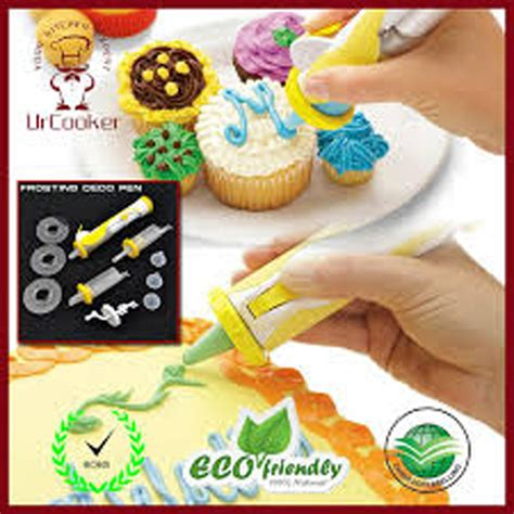 Alat Penghias Makanan frosting deco pen alat penghias kue