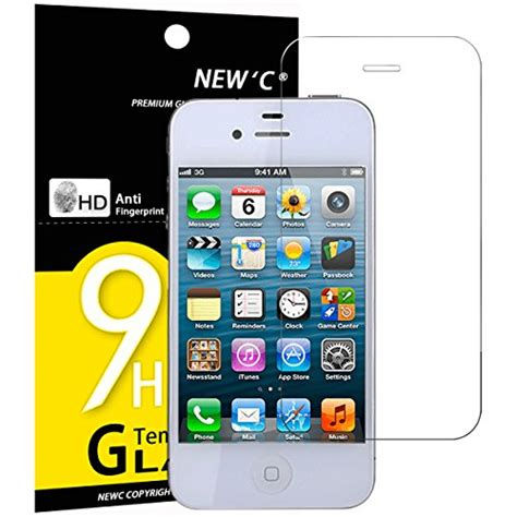 verre tremp 233 iphone 4 4s newc 174 protection en verre tremp 233 233 cran protecteur anti rayures