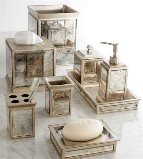 Mirrored Bathroom Accessories Sets 15 Luxury Bathroom Accessories Set Home Design Lover