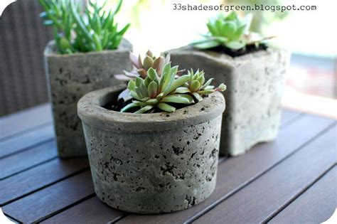 hypertufa concrete pots using perlite portland cement