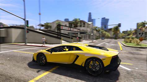 How To Spawn A Lamborghini In Gta 5 2013 Lamborghini Aventador Lp720 4 50th Anniversary Add