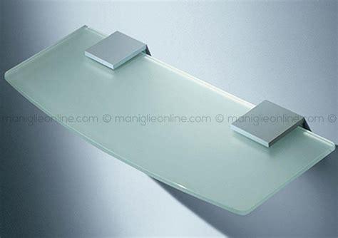 mensole in vetro mensole ripiani per bagno in vetro ottone cromato e