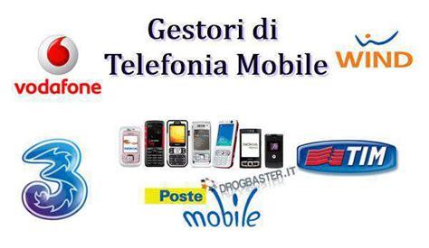 gestori mobili elenco operatori di telefonia mobile