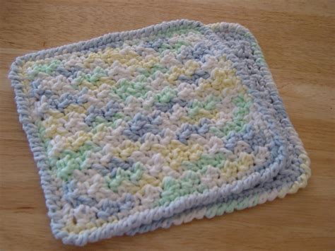 crochet washcloth instructions crochet patterns baby washcloths dancox for