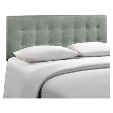 button tufted headboard emily button tufted fabric headboard dcg stores