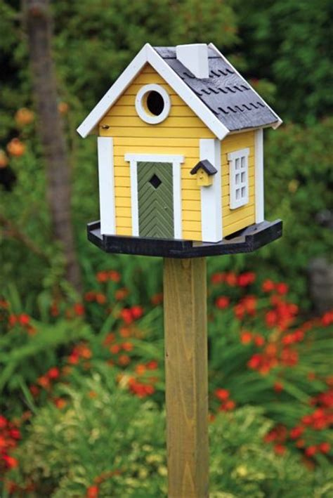 Bird House Decorating Ideas by 10 Birdhouses To Decorate Your Outdoor Space This