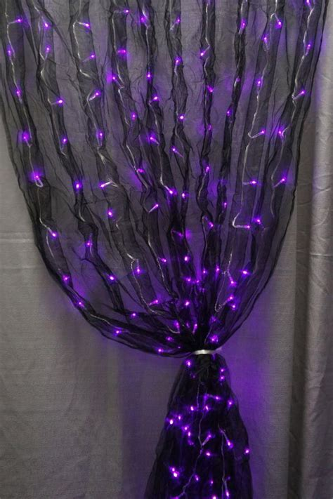 black curtain with led lights 10 creative led lights decorating ideas hative