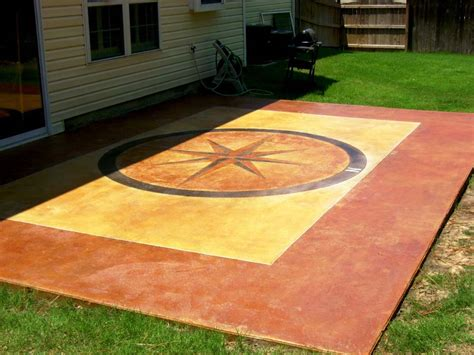 Stained Concrete Patio Pictures - concrete acid stain photo gallery direct colors inc