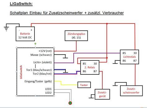 Schaltung Zusatzscheinwerfer Motorrad by Elektronischer Schalter F 252 R Zusatzscheinwerfer U